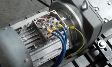 Manutenção em motores e redutores